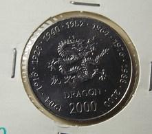 Somalia 10 Shillings 2000 Dragon Varnished - Somalia