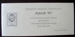 POLAND -POLEN- BOOKLET- MARKENHEFTCHEN - PZF RYBNIK 95 - Carnets