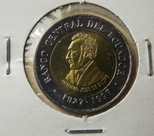 Ecuador 100 Sucres 1997 Varnished - Ecuador