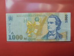 ROUMANIE 1000 LEI 1998 CIRCULER - Roumanie