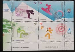 Argentina 2006 Winter Sports - Unused Stamps