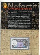 Egitto -  Banconota Da 5 Piastres - Con Folder Bolaffi - Nuova FDS -  (MW2110) - Egitto