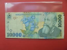 ROUMANIE 10.000 LEI 1999 CIRCULER - Roumanie