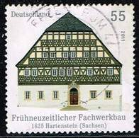 Bund 2011, Michel# 2862 R O  Fachwerkbauten In Deutschlandmit Nr. 10 - [7] West-Duitsland