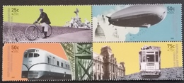 Argentina  2000 Methods Of Transportation - Unused Stamps