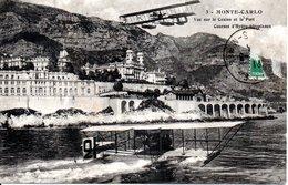 MONACO -- MONTE CARLO -- CPA -- Courses D' Hydro-Aéroplanes - Harbor