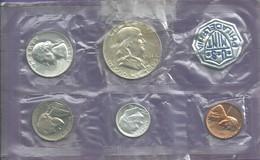 Monnaie USA 1961 US MINT PHILADELPHIA 2 Pieces Argent Superbe N050 - Amérique Centrale