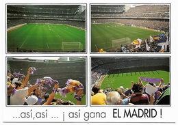 FOOTBALL ESPAÑA MADRID - Estadio Santiago Bernabeu - Asi Gana EL MADRID - Fútbol