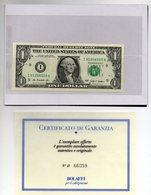 "Stati Uniti - 2009 - 1 Dollaro - Zecca ""I"" - Con Folder Bolaffi - Nuova FDS -  (MW2111) - Devise Nationale"
