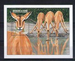 Guinée. Bloc Feuillet. Antilope - Guinée (1958-...)