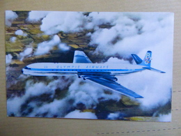 OLYMPIC AIRWAYS   COMET 4B     AIRLINE ISSUE / CARTE COMPAGNIE - 1946-....: Moderne