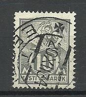 ESTLAND Estonia 1928 Michel 73 Blacksmith O - Estonia