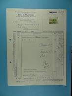 Comptoir Belge De Matériaux Techniques Emile Slosse Bruxelles /10/ - Électricité & Gaz