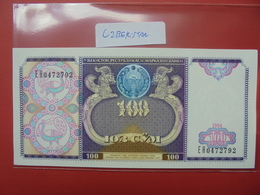 UZBEKISTAN 100 SUM 1994 PEU CIRCULER/NEUF - Uzbekistan