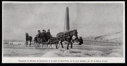 1923  -  SAINT PIERRE ET MIQUELON PROMENADE DU MINISTRE ET GOUVERNEUR  3R108 - Vieux Papiers