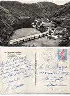 SPONTOUR -Le Pont - Retenue De Chastang  - Cachet Octogonal De LIGINIAC C.P. N° 1   (112136) - France