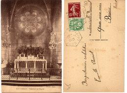 COULMIERS - Intérieur De L' Eglise  - Cachet Octogonal  (112138) - Coulmiers