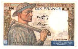 Billets > France > 10 Francs  1949  Qualité Sup/ - 1871-1952 Antichi Franchi Circolanti Nel XX Secolo
