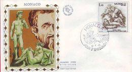 FDC Monaco  N° YVERT 1034 MICHEL ANGE - FDC
