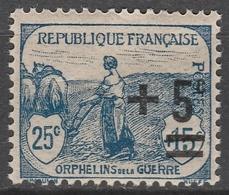 France  .    Yvert    .  165   .     **   .     Neuf SANS  Charniere  .   /   . MNH - France