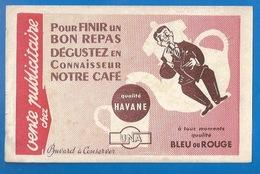 BUVARD -  CAFÉ UNA - QUALITÉ HAVANE - Café & Thé