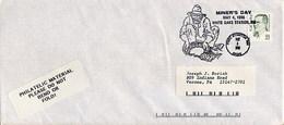 USA - FORT STANTON - MINER'S DAY  -  WHITE OAK  -  MINE  MINATORE - CERCATORE DI ORO  -  GOLD - Minerali