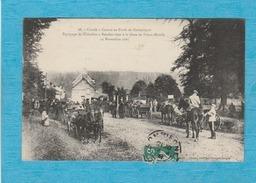 Compiègne. - Une Chasse à Courre En Forêt De Compiègne, Équipage De Chézelles. - Compiegne