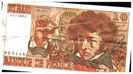 Billets > France > 10 Francs 1976 - 10 F 1972-1978 ''Berlioz''