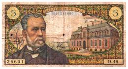 Billets > France > 5 Francs 1966 - 1962-1997 ''Francs''