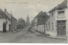 PECQ  LES RUINES   Rue Du Rivage. - Pecq