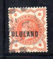 XP4601 - ZULULAND 1888 , Yvert N. 1  Usato (2380A) . - Zululand (1888-1902)