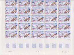 TAAF 1987 Base Marret 1v Complete Sheetlet With Full Margins  ** Mnh (TA230) - Ongebruikt