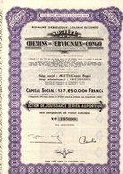 AKETI CHEMINS DE FER VICINAUX DU CONGO - Actions & Titres