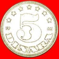 # YEAR =TYPE: YUGOSLAVIA ★ 5 DINAR 1963! LOW START ★ NO RESERVE! - Yougoslavie
