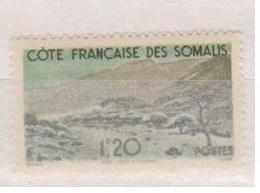 COTE DES SOMALIS   N°  YVERT  :   271    NEUF AVEC  CHARNIERES      ( Ch  2/07  ) - Unused Stamps