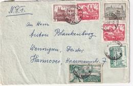 POLOGNE LETTRE POUR HANNOVER - 1944-.... République
