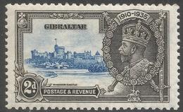 Gibraltar. 1935 KGV Silver Jubilee. 2d MH. SG114 - Gibraltar