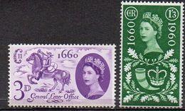 GREAT BRITAIN 1960 Tercentenary Of The General Letter Office - 1952-.... (Elizabeth II)