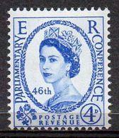 GREAT BRITAIN 1957 46th Inter-Parliamenrary Union Conference - 1952-.... (Elizabeth II)