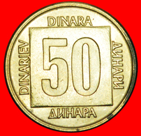 # LAST INFLATION (1988-1989): YUGOSLAVIA ★ 50 DINAR 1988 MINT LUSTER! LOW START ★ NO RESERVE! - Yougoslavie
