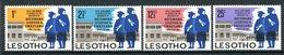 Lesotho 1967 First Conferment Of University Degrees Set MNH (SG 137-140) - Lesotho (1966-...)