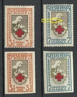 Estland Estonia 1921/22 Michel  29 - 30 A + B * - Estland
