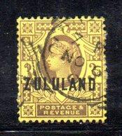 XP4607 - ZULULAND 1888 , Yvert N. 5  Usato (2380A) . - Zululand (1888-1902)