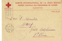 Demande De Renseignements Sur Un Caporal Français Prisonnier Au Stalag VII A- Juin 1940 - - Croix-Rouge