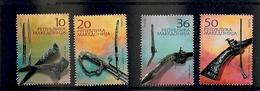 MACEDONIA 2004,CULTURAL HERITRAGE,WEAPONS,MI NO 309-312,,MNH - Macédoine