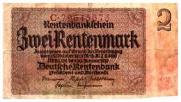 Billets > Allemagne > 2 Rentenmark 1923 - [ 3] 1918-1933 : République De Weimar