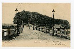 D018 - Doesburg - Schipbrug - Spoor Spoorweg Rails - Uitg A. Benschop Arnhem - Oude Kaart 1906 - Paard En Wagen - Volk - Autres