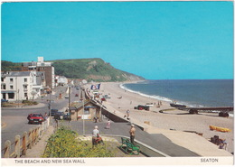 Seaton: FORD ESCORT MKIII , TRACTOR - The Beach And New Sea Wall - Toerisme