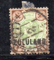 XP4608 - ZULULAND 1888 , Yvert N. 6  Usato (2380A) . - Zululand (1888-1902)