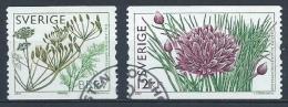Suède 2009 N°2701/2702 Oblitérés Condiments - Used Stamps